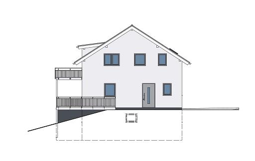 k-Monatshaus mit 2 Einliegerwohnungen Ansicht 3