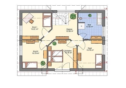 Dachgeschoss Classic 166