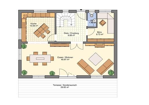 Erdgeschoss Classic 166