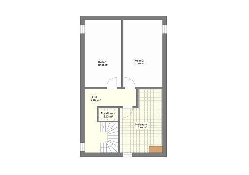 Mediteran 242 Untergeschoss