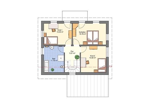 Lifestyle 150 Dachgeschoss