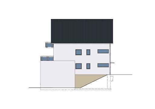 Monathaus Juni 17 als Mehrfamilienhaus Ansicht 2