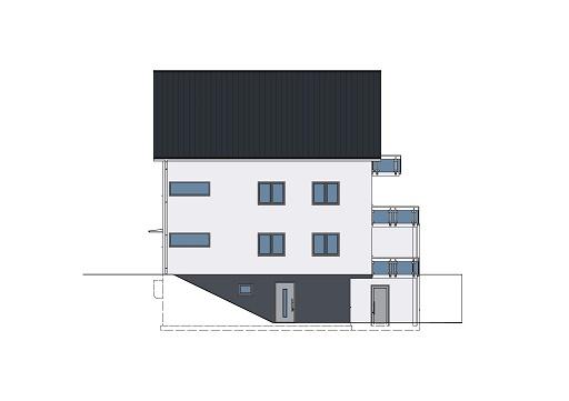 Monathaus Juni 17 als Mehrfamilienhaus Ansicht 4